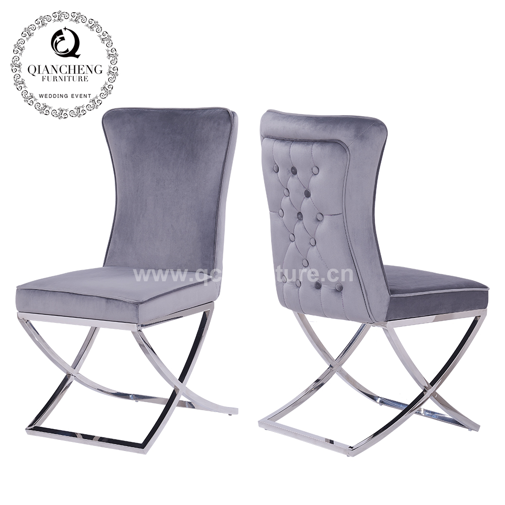 high quality hotel restaurant metal wedding banquet wholesale dining room chair C291#