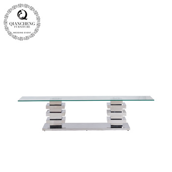 Add to CompareShare Home furniture new model design stainless steel tv stand 995#