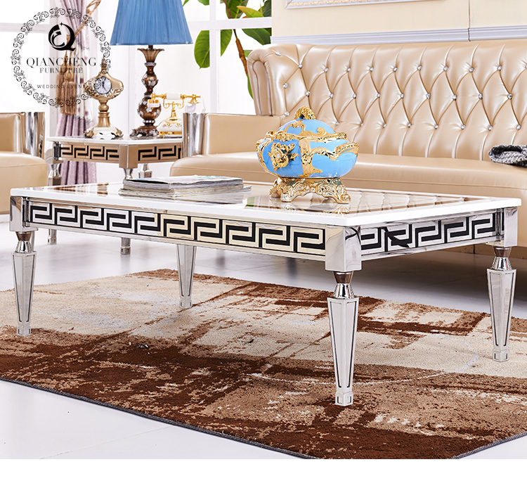 luxury home interior marble coffee table #887