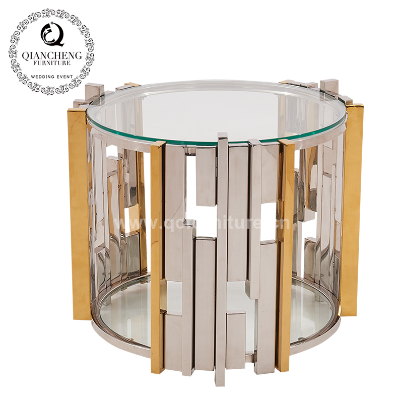 New Design Glass Top Side Table 1083#